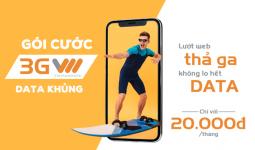 Bảng giá các gói cước 3G Vietnamobile giá rẻ mới nhất