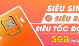 Siêu Thánh SIM 4G Vietnamobile: Nhận 5GB/ngày data khủng giá rẻ nhất