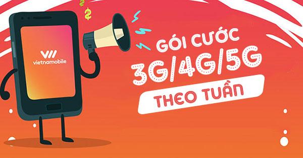 Cách đăng ký 3G 4G 5G Vietnamobile 1 tuần mới nhất hiện nay
