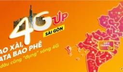 Sim siêu thánh UP data Vietnamobile nhận 5GB/ngày