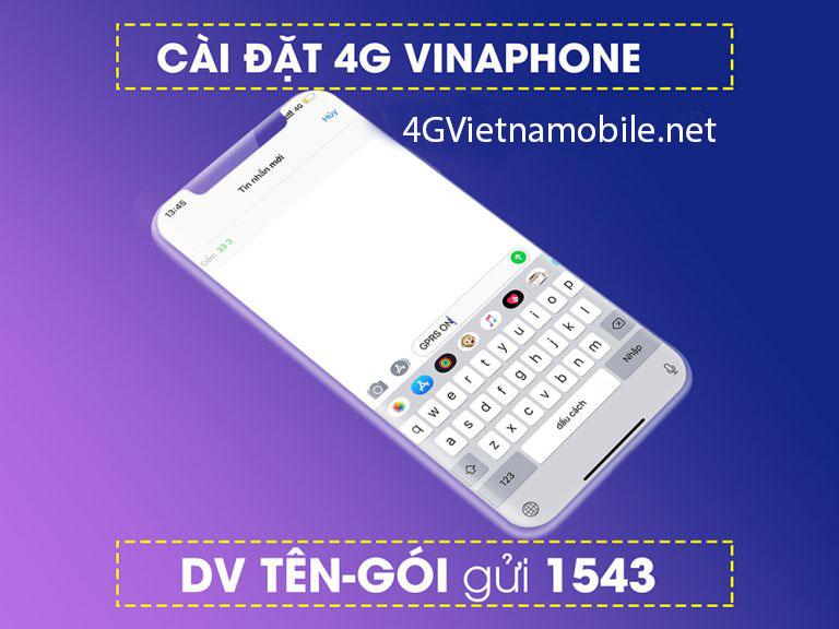 Cách cài đặt 4G VinaPhone, cấu hình 4G LTE VinaPhone cho IOS, Android
