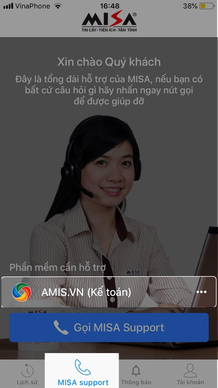 Cách liên hệ tổng đài Misa Support qua điện thoại