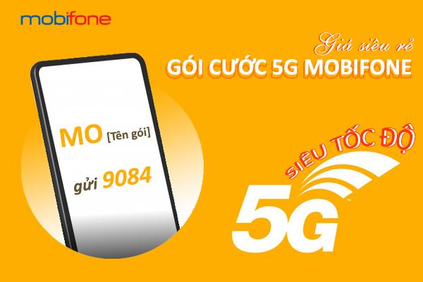 Cách đăng ký gói cước 5G Mobifone giá rẻ cho di động và Fast Connect