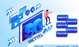 Bảng giá các gói cước 5G Viettel giá rẻ data khủng