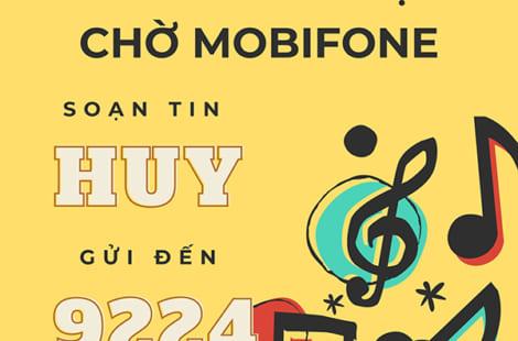Hướng dẫn cách hủy nhạc chờ Mobifone