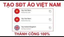 Cách tạo số điện thoại ảo Việt Nam +84 nhanh chóng